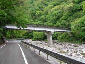 島根県 県道307号波佐匹見線 崎...